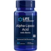 Alpha-Lipoic Acid with Biotin,  60 capsules