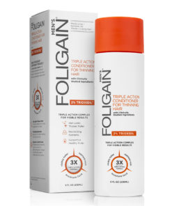 Foligain Triple Action Conditioner for thinning hair R for Men with 2% Trioxidil (8 fl oz) 236ml