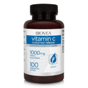 VITAMIN C (Sustained Release) 1000mg 100 Vegetarian Tablets