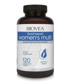 WOMEN'S MULTIVITAMIN (FOOD BASED) 120 Tablets