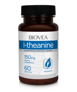 L-THEANINE 150mg 60 Vegetarian Capsules