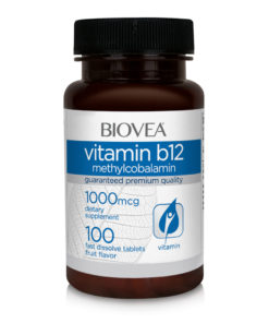 VITAMIN B12 (Methylcobalamin) 1000mcg 100 (Fast Dissolve) Tablets