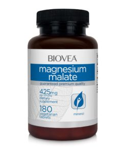 MAGNESIUM MALATE 425mg 180 Tablets