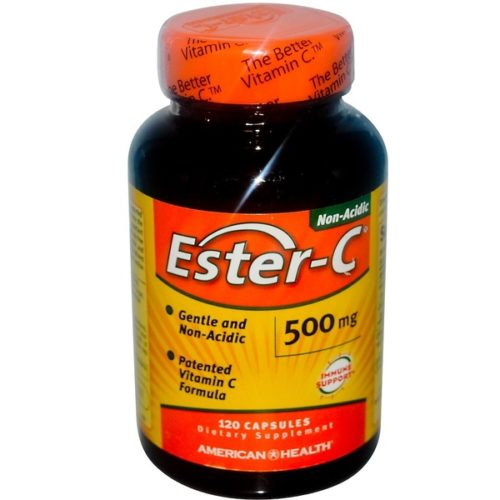 Vitamin C,  500mg x120Caps, Ester-C