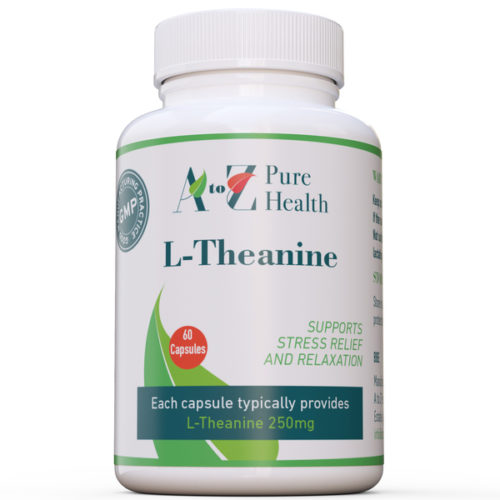 L-Theanine 250mg, 60 capsules