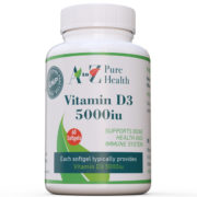 Vitamin D3 5000iu , 60 softgels