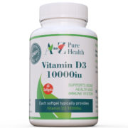 Vitamin D3 10000iu, 60 softgels