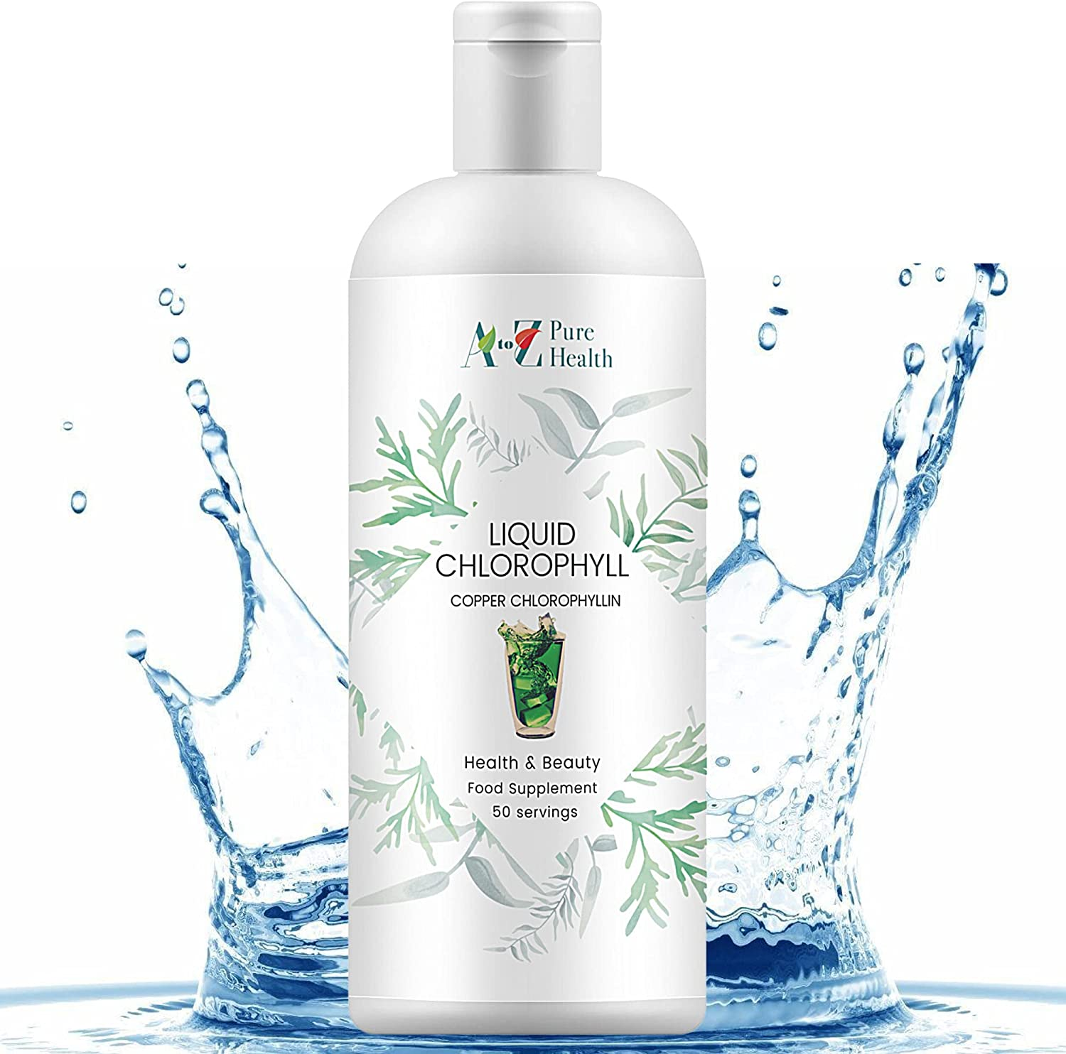 A to Z Pure Health Liquid Chlorophyll (Mint Flavour) 500ml