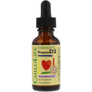 ChildLife, Vitamin D3, Natural Berry Flavor, 1 fl oz (29.6 ml)