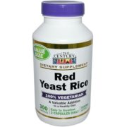 Red Yeast Rice,  600mg x 300VCaps