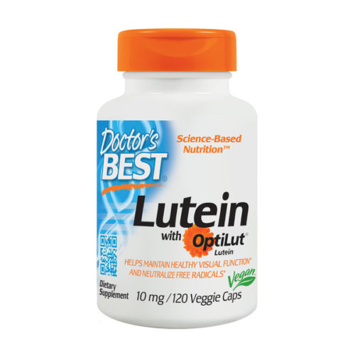 Lutein with Optilut, 10mg x 120VCaps