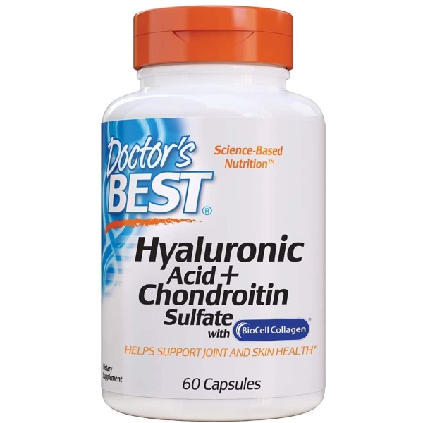 Doctor's Best Hyaluronic Acid + Chondroitin Sulfate x 60 Caps