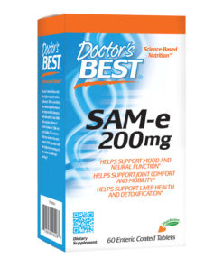 SAM-e, 200mg x 60 Enteric Coated Tablets