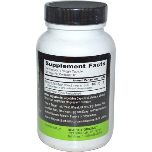 Green Coffee Bean Extract, 400mg x  60VCaps