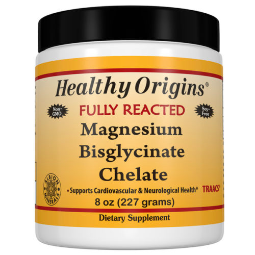 Magnesium Bisglycinate Chelate,8oz (227g) Fully Reacted