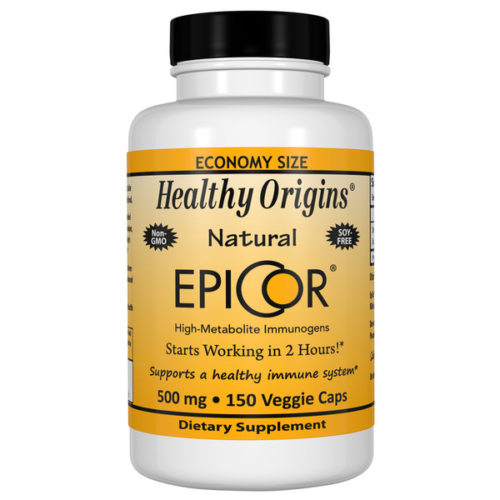 Epicor, 500mg x 150VCaps,  (Immune Protection)