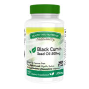 Black Seed Oil (Cold Pressed) 500mg (NON-GMO) 360 Softgels