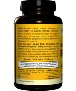 Vitamin B-12 Methyl, Methyl Folate, Lemon Flavor, 100Loz