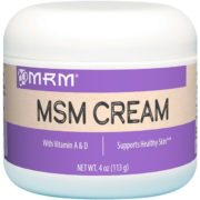 MSM Cream, 4oz