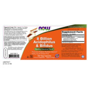 Pro-Biotics Acidophilus & Bifidus 8 Billion  120 VCaps