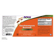 Pro-Biotic, Saccharomyces Boulardii (5 Billion CFU)  60 VCaps