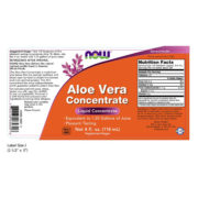 Aloe Vera Concentrate, 4 OZ, 118ml