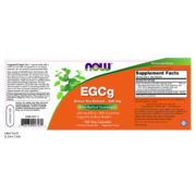 Green Tea Extract, EGCg, 400mg x 180VCaps