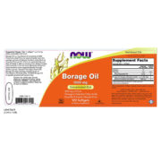 Borage Oil, 1000 mg  x 120 SGELS
