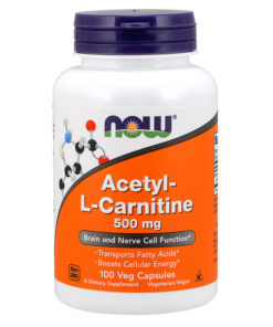 L-Carnitine (Acetyl), 500mg x 100 VCaps