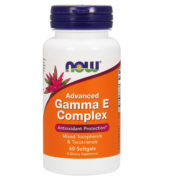 Vitamin E, Gamma E Complex,  60 SGels, Advanced