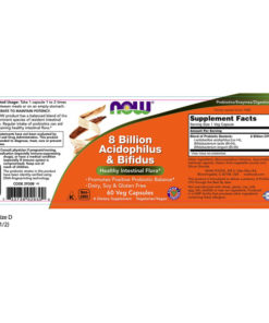 Pro-Biotics Acidophilus & Bifidus 8 Billion  60 VCaps