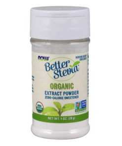 Stevia, BetterStevia Extract Powder, 1 oz (28g) Organic