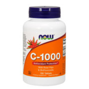 Vitamin C-1000, 100Tabs (with Rosehips and Bioflavonoids)