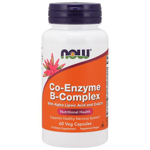 Vitamin B-Complex, Co-Enzyme, 60VCaps