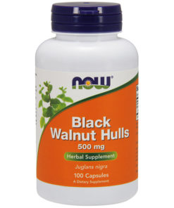 Black Walnut Hulse, 500mg x  100Caps