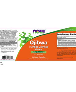 Ojibwa Herbal Extract,  450mg  x180 VCaps