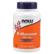 D-Mannose, 500mg x 120 Capsules