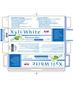 Toothpaste Gel. Xyliwhite Platinum Mint, 6.4oz (181g)