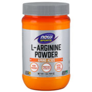 L-Arginine Powder, 1lb (454g), 98 Servings