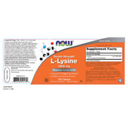 L-Lysine, 1000mg x100VTabs