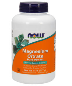 Magnesium Citrate, 100% Pure Powder, 8oz, (227g)