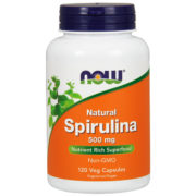 Spirulina, 500 mg x120VCaps Natural