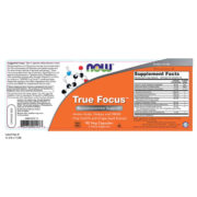 True Focus, Mental Clarity Complex, 90Vcaps