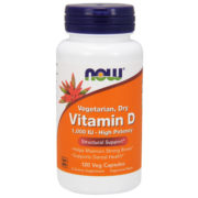 Vitamin D-2, High Potency, 1000iu x 120VCaps