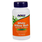 Willow Bark Extract, 400mg x 100 Capsules