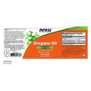Oregano Oil, 90Sgels