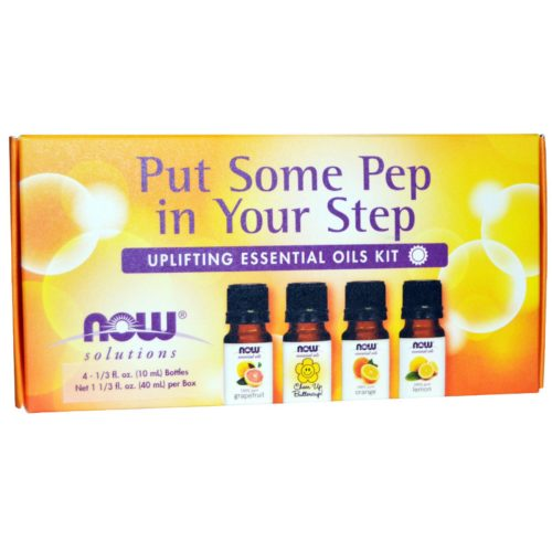 Now Foods Put Some Pep in Your Step Oil Kit