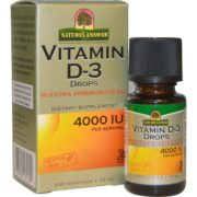Vitamin D-3, 4000iu x 240Servings, 15ml DROPS