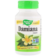 Damiana Leaves, 400mg x 100Caps