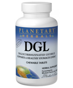 Licorice, DGL (Deglycyrrhizinated Licorice), 100Tabs